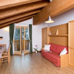 Residence Civetta living